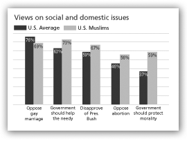 Views on social and domestic issues