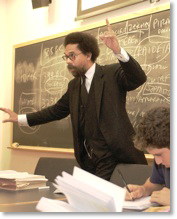 Cornell West, by Denise Applewhite