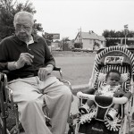 Elderly Man and Child, St. Paul, Minnesota
