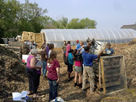 Urban farms provide educational opportunities for local youth and economic opportunities for surrounding neighborhoods. (Tami Hughes)