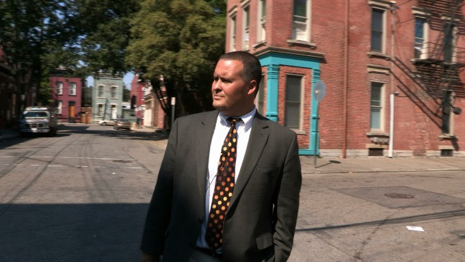 "Craig Hockenberry makes his rounds in Lower Price Hill. From the documentary ""Oyler,"" produced by Amy Scott in association with public radio's ""Marketplace."""
