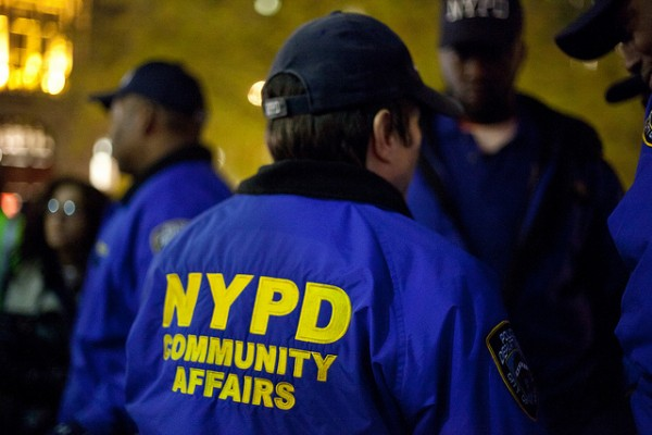 NYPD Community Affairs Photo by Coco Curranski Flickr CC