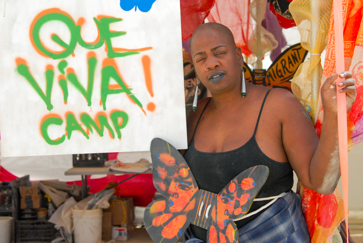 Ashara Ekundayo of Que Viva! Camp. Photo: Alexander Heilner