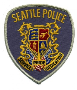 Seattle PD patch Photo by Dave Conner via Flickr CC https://flic.kr/p/9onazb