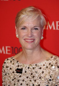 Planned Parenthood president Cecile Richards at the Time100 gala in 2011. In 2015, she would testify before a Congressional hearing on her organization's practices. David Shankbone, Flickr CC