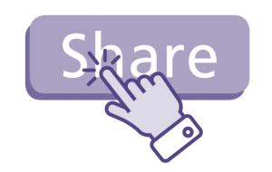 share button click