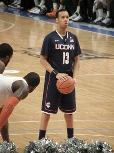 Shabazz Napier set off a media storm when he revealed that, as an NCAA player with basketball juggernaut the University of Connecticut, he went to bed hungry. Matthew D. Britt, Flickr CC