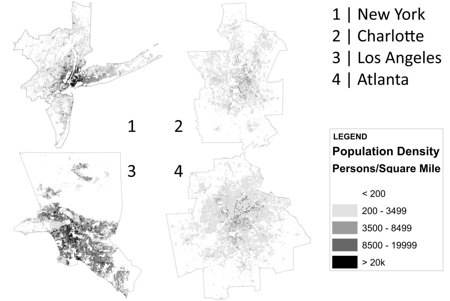 The Problem of Urban Sprawl - Contexts