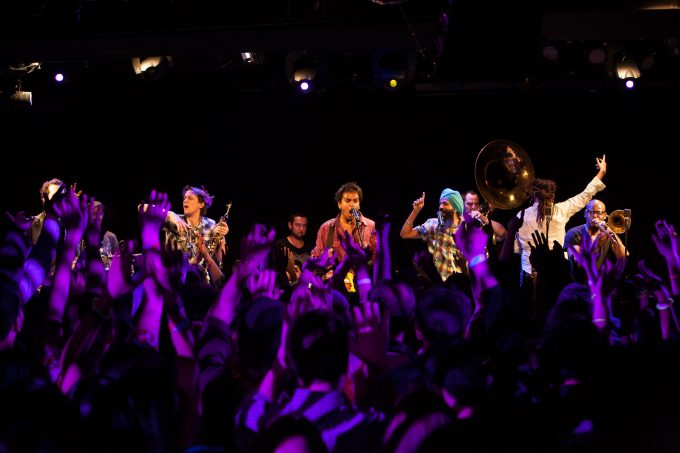 Red Baraat works to overcome barriers between band and audience. Courtesy Jainsounds.com.