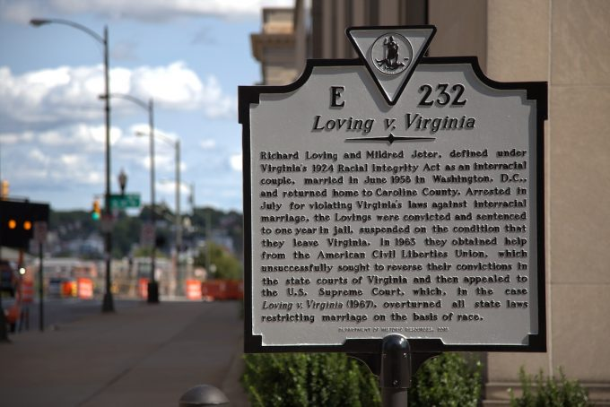 The marker erected in 2017 in Richmond, VA.  J.J. Prats via Historic Marker Database